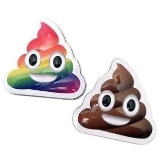 Boston America Corp Bonbons - Emoji - Caca Vanille Boîte en métal
