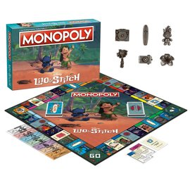 Usaopoly Board Game - Disney - Monopoly Lilo & Stitch