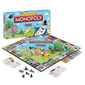 Usaopoly Board Game - Cartoon Network - Monopoly Adventure Time