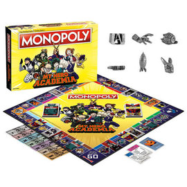 Usaopoly Jeu de société - Funimation - Monopoly My Hero Academia