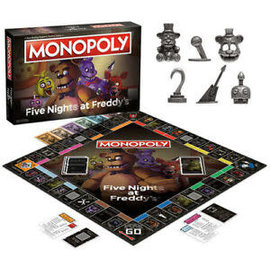 Usaopoly Board Game - Monopoly Five Nights at Freddy's