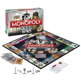 Usaopoly Jeu de société - BBC - Monopoly Doctor Who 50th Anniversary Édition de Collection