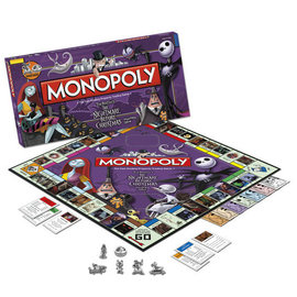 Usaopoly Board Game - Disney - Monopoly The Nightmare Before Christmas