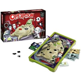 Usaopoly Board Game -Disney - Operation The Nightmare Before Christmas