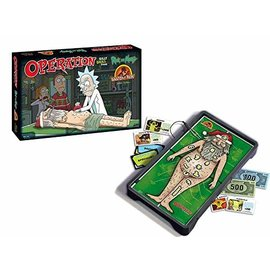 Usaopoly Jeu de société - Rick & Morty - Operation Anatomy Park