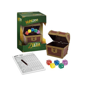 Usaopoly Board Game - The Legend of Zelda - Yahtzee Chest Collector's Edition