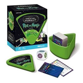Usaopoly Jeu de société - Rick and Morty - Trivial Pursuit