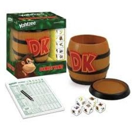 Usaopoly Board Game - Donkey kong - Yahtzee Barrel Edition