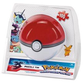 Cardinal Casse-tête - Pokémon - Boîte Poke Ball en Métal 100 pièces
