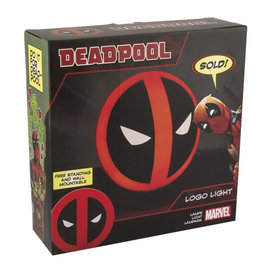 Paladone Lamp - Marvel - Deadpool Logo Light