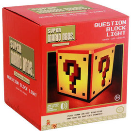 Paladone Lamp- Nintendo - Super Mario Question Block Light with Sound