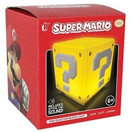 Paladone Lamp - Nintendo - Super Mario Question Block Mini Light