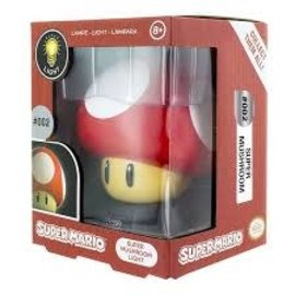 Paladone Lamp - Nintendo - Mini Super Mario Super Mushroom Red Light