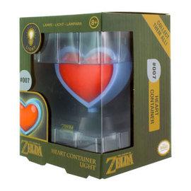 Paladone Lampe - The Legend of Zelda - Mini Lumière Contenant Coeur