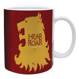 Pyramid America Mug - Game of Thrones - Lannister Hear Me Roar 11oz