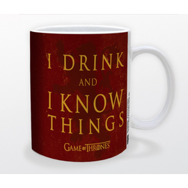 Pyramid America Tasse - Game of Thrones - I Drink and I Know Things 11oz