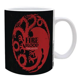 Pyramid America Tasse - Game of Thrones - Targaryen Fire and Blood 11oz