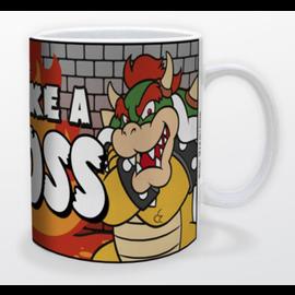 Pyramid America Tasse - Nintendo Super Mario Bros. - Bowser Like a Boss 11oz