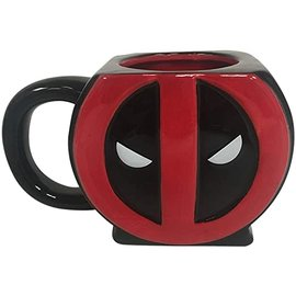 Silver Buffalo Tasse - Marvel - Deadpool Sculptée 20oz