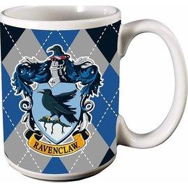 Spoontiques Tasse - Harry Potter - Maison Serdaigle Carrautée Bleue et Grise 12oz