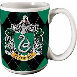 Spoontiques Tasse - Harry Potter - Maison Serpentard sur Fond Carrauté 12oz