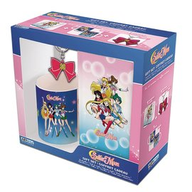 AbysSTyle Mug - Sailor Moon - Gift Set with Keychain and Notebook