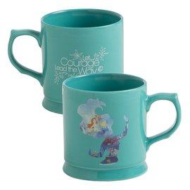 Vandor Mug - Disney - Little Mermaid Let Courage Lead the Way 12oz