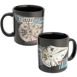 Vandor Mug - Star Wars - Millenium Falcon Heat Reactive 20oz