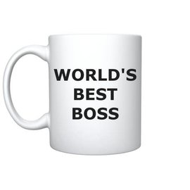 Chez Rhox Mug - The Office - World's Best Boss Dunder Mifflin 11oz