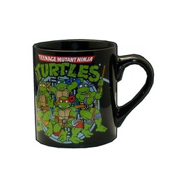 Silver Buffalo Tasse - Teenage Mutant Ninja Turtles - Groupe Noire 16oz