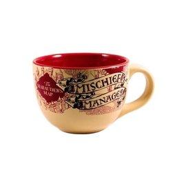 Silver Buffalo Tasse - Harry Potter - Carte du Maraudeur Beige Mischief Managed 24oz