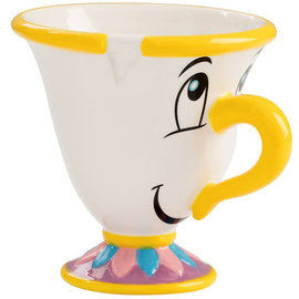 Vandor Mug - Disney - Beauty and the Beast Chip Teacup Sculpted 8oz