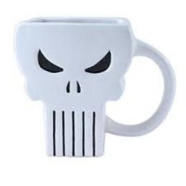 Silver Buffalo Tasse - Marvel - The Punisher Sculptée 20 oz