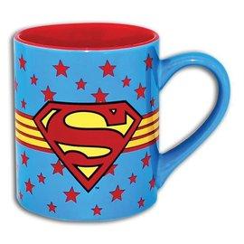 Silver Buffalo Tasse - DC Comics - Superman avec Étoiles 14oz