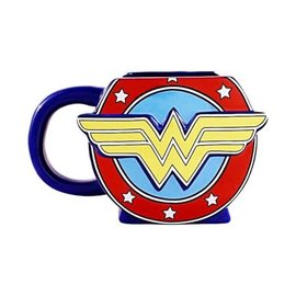 Silver Buffalo Tasse - DC Comics - Wonder Woman Sculptée 20oz