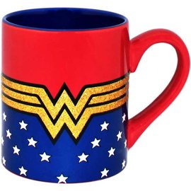 Silver Buffalo Mug - DC Comics - Wonder Woman Classic Shiny 14oz