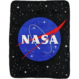 Bioworld Blanket - NASA - Logo Fleece Throw