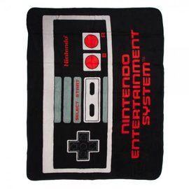 Bioworld Blanket - Nintendo - NES Controller Fleece Throw