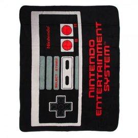 Bioworld Blanket - Nintendo - NES Controller Fleece Throw