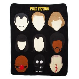 Bioworld Blanket - Pulp Fiction - Characters Fleece Throw