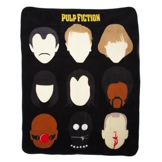 Bioworld Couverture - Pulp Fiction - Personnages Jeté en Peluche