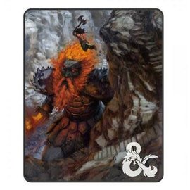 Bioworld Blanket - Dungeons & Dragons - Fire Giant Fleece Throw
