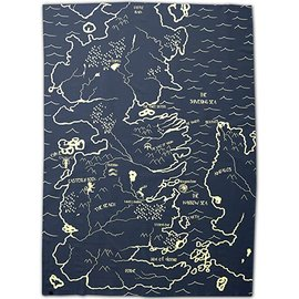 Katalyst Licensing Couverture - Game of Thrones - Carte de Westeros Jeté en Peluche
