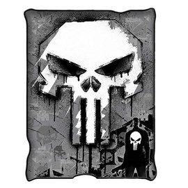 Silver Buffalo Blanket - Marvel - The Punisher Fleece Throw