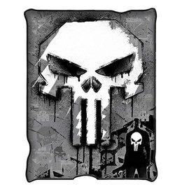 Silver Buffalo Couverture - Marvel - The Punisher Jeté en Peluche