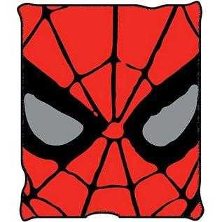 Silver Buffalo Couverture - Marvel - Spider-Man Jeté en Peluche