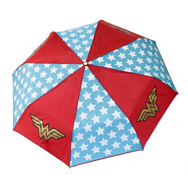 Bioworld Umbrella - DC Comics - Wonder Woman Logo Red with Stars