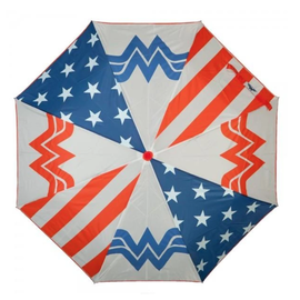 Bioworld Umbrella - DC Comics - Wonder Woman Logo White with Stars