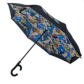 Bioworld Umbrella - DC Comics - Wonder Woman Reverse Montage