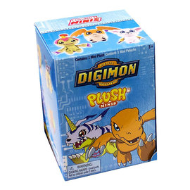 Zag Toys Boîte mystère - Digimon - Mini Peluche